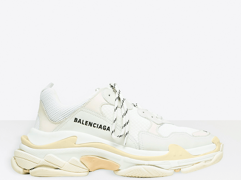 Фото Balenciaga Triple S White/Biege
