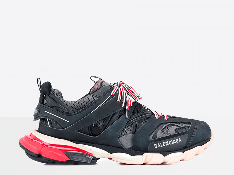 Фото Balenciaga Track Trainers Black/White/Red