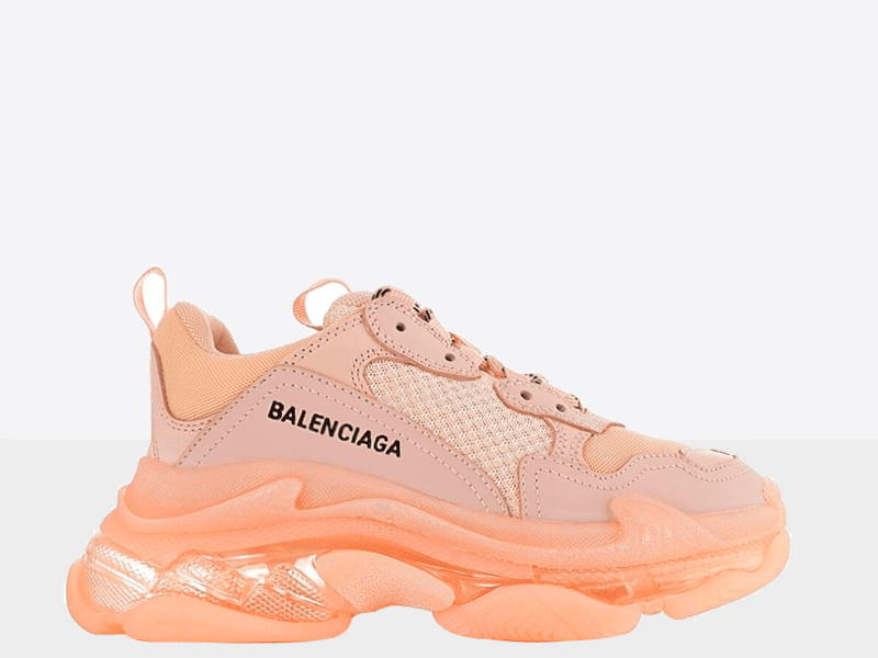 Фото Balenciaga Triple S Clear Sole Full Pink