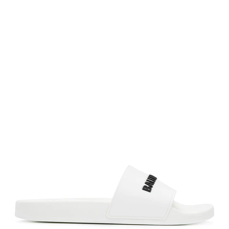 Фото Balenciaga Logo Slides White