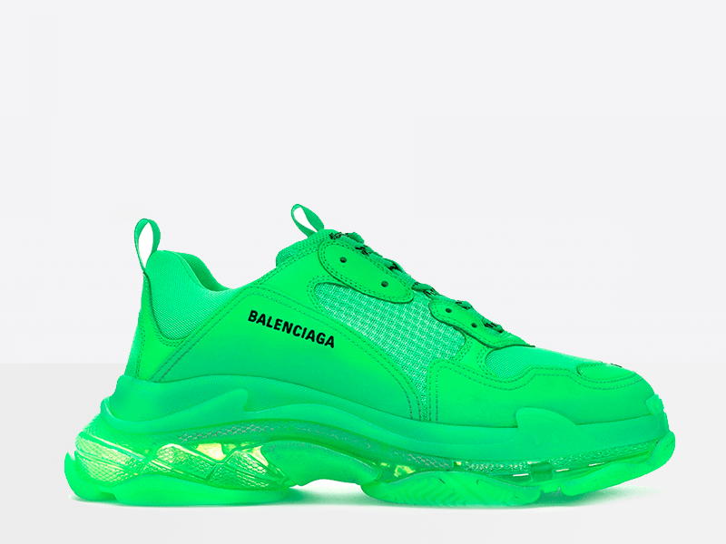 Фото Balenciaga Triple S Green