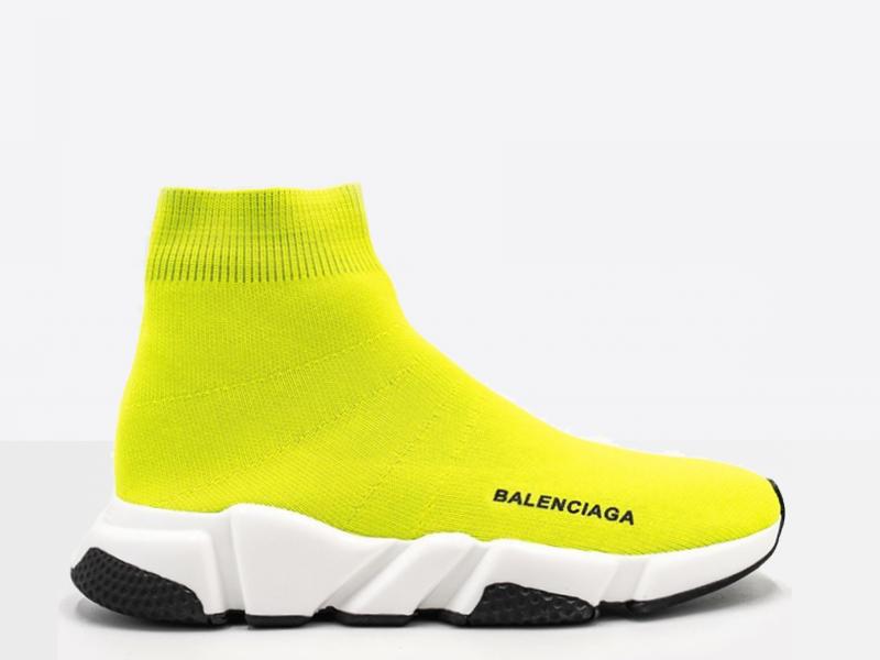 Фото Balenciaga Speed Trainers Yellow
