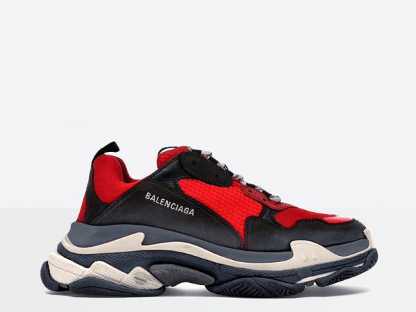 Balenciaga Triple S Red/Black/White