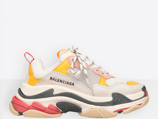 Balenciaga Triple S Pink/White/Yellow