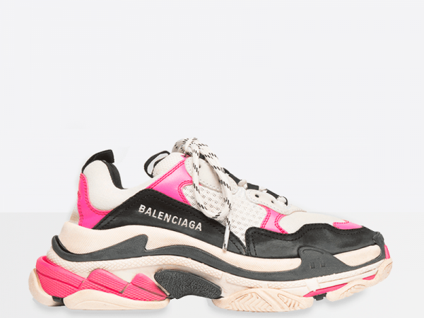 Balenciaga Triple S White/Pink/Black
