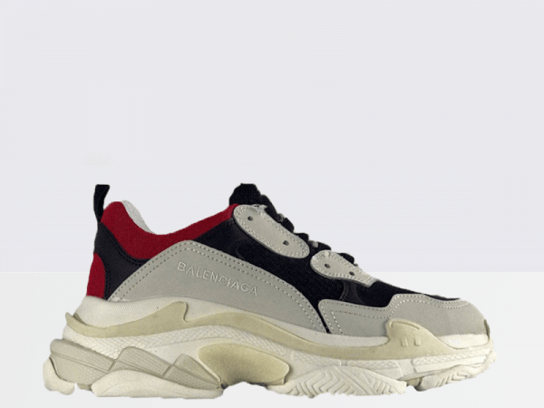 Balenciaga Triple S Black/Grey/Red