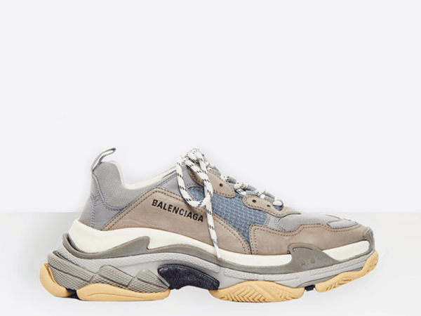 Balenciaga Triple S Grey/Royal