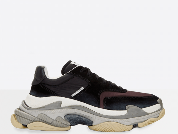 Balenciaga Triple S 2.0 Black/Burgundy