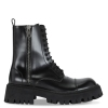 Balenciaga Black Tractor Side-zip Boots Patent